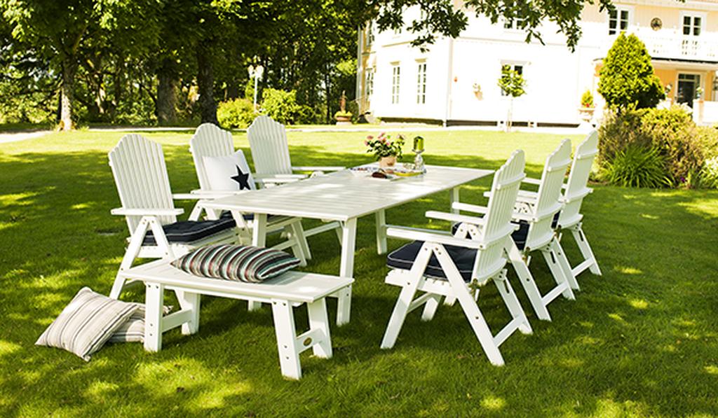 Hagemøbler – vår og sommer i hagen