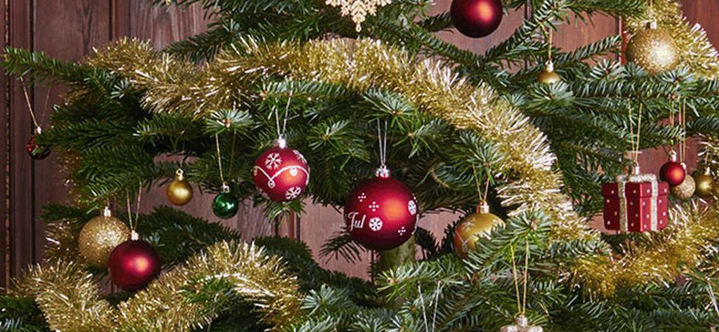 Julepynt for den tradisjonelle