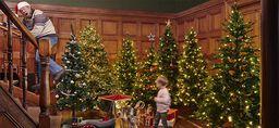 Kunstig tre til jul