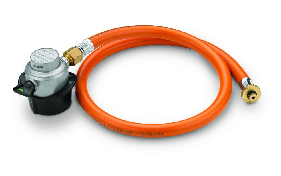 Gas Converter Set 5 & 10 Kg, Svart