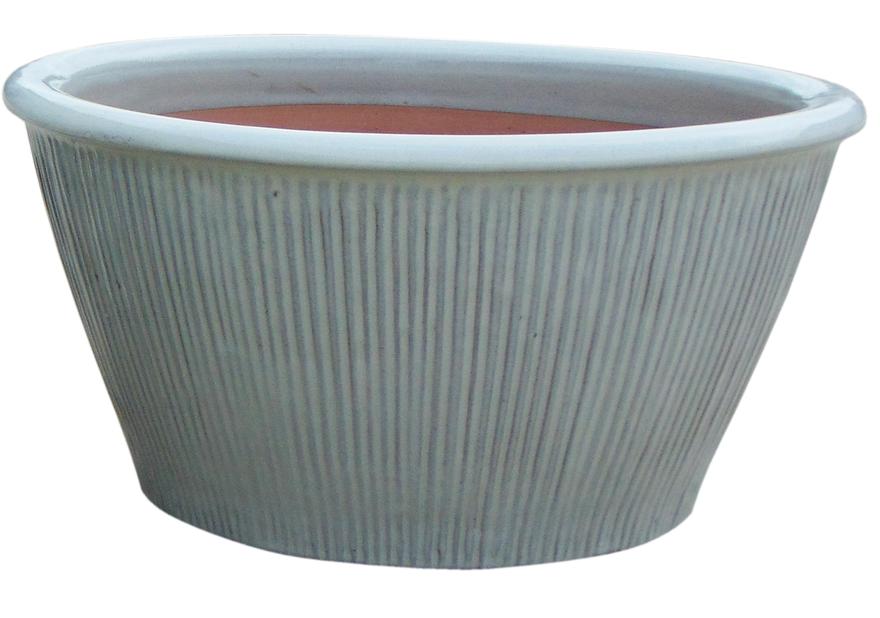 Balder planteskål, Ø28 cm, Hvit