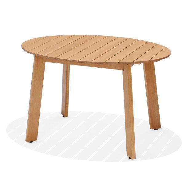 Spisebord Viborg, Lengde 123 cm, Tre