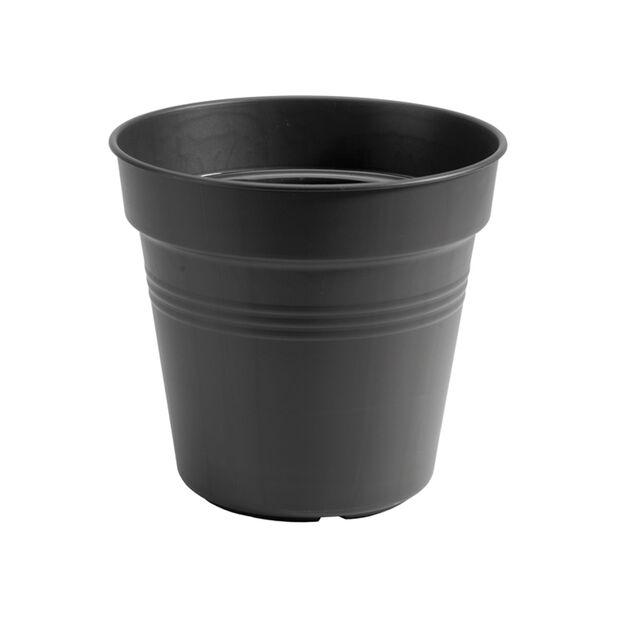 Plastkrukke Green Basics Growpot, Ø17 cm, Svart