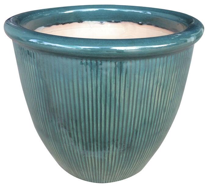 Potte Balder grønn D 35 cm