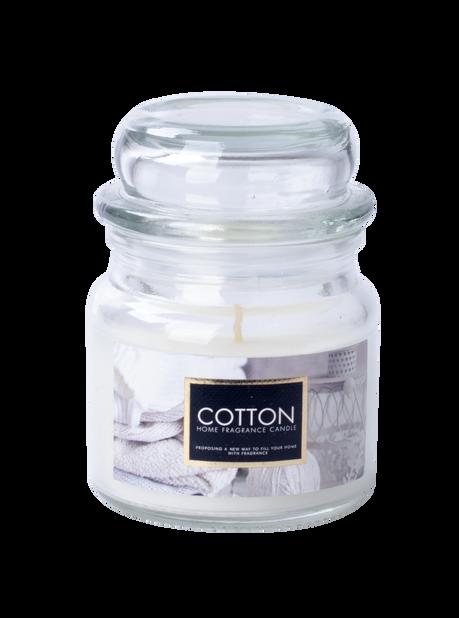 Duftlys Fresh Cotton H8.5 cm
