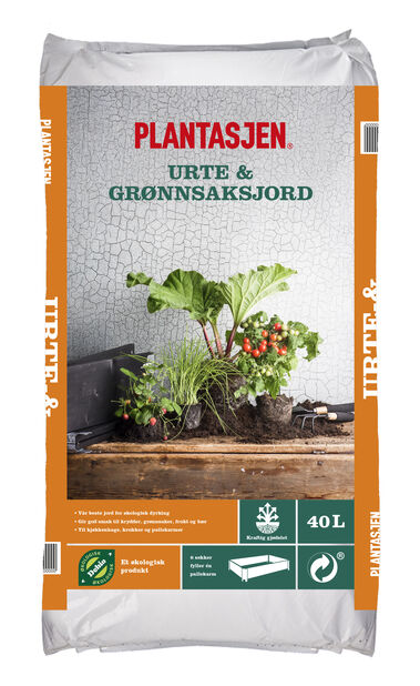 Jord grønnsaker og krydder , 40 L
