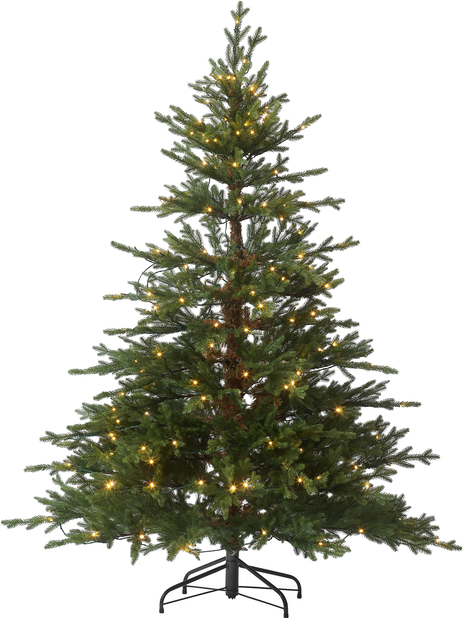 Kunstig juletre Langfjella med lys 180 cm