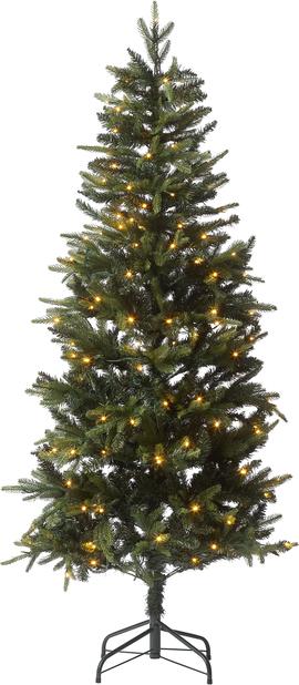Kunstig juletre Narvik med lys 180 cm