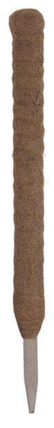 Plantestøtte, kokosfiber, Høyde 60 cm, Brun