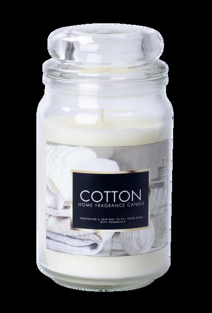 Duftlys Fresh cotton H18 cm