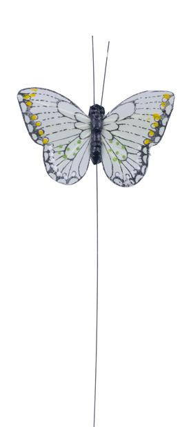 Dekorasjonspinne sommerfugl 24cm