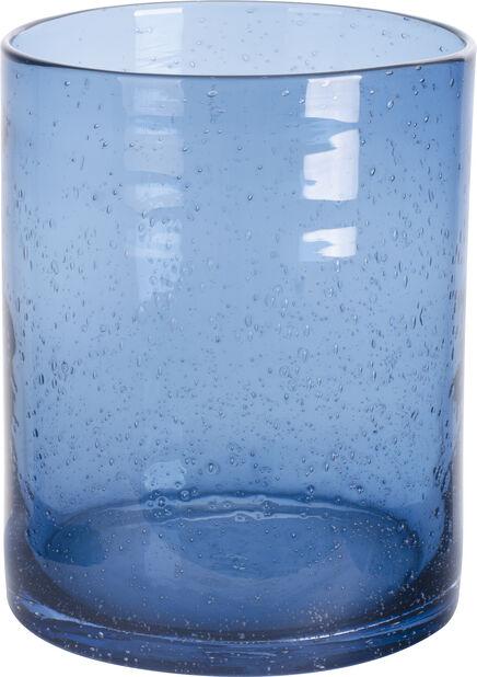 Vase Bubble H 20 cm Blå