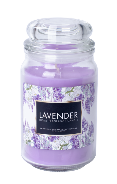 Duftlys Lavendel H18 cm
