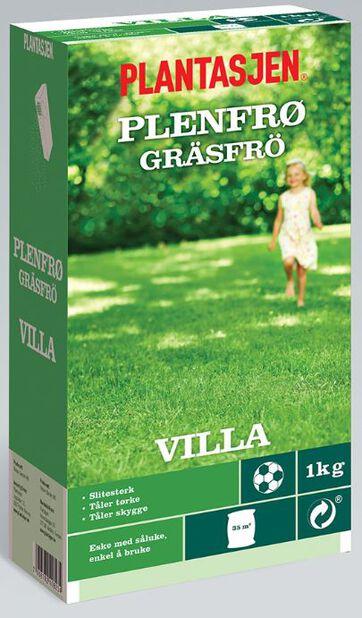 Plenfrø Villa, 1 kg, Flere farger