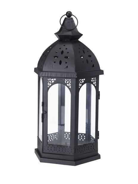Lanterne Ludvig svart h 46cm