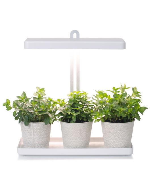 LED-plantebelysning, Lengde 45 cm, Hvit