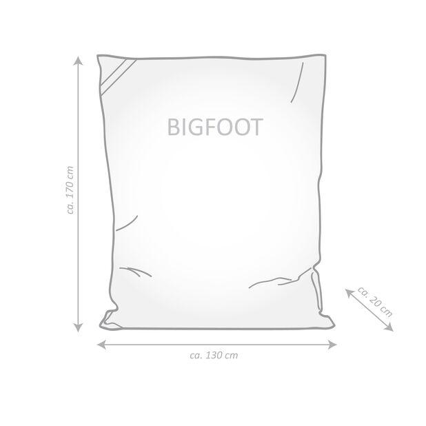 Sittesekk Big Foot