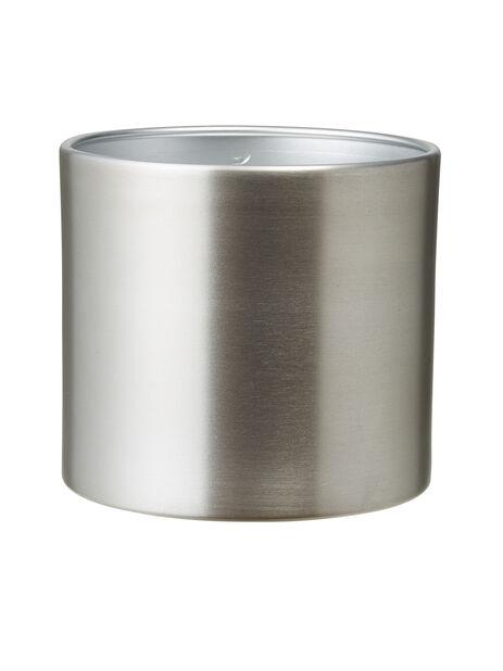 Potte Colinfarget, Ø13 cm, Sølv