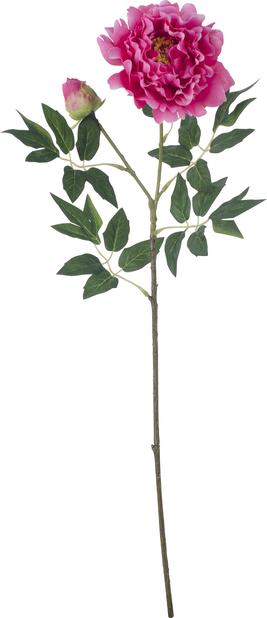 Peon kunstig, Høyde 61 cm, Rosa