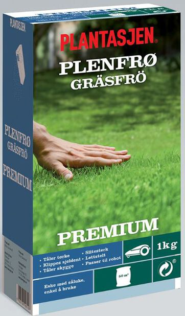 Gressfrø Premium, 1 kg