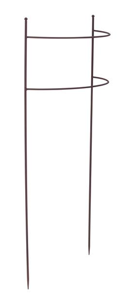 Plantestøtte buet , Høyde 80 cm, Rust
