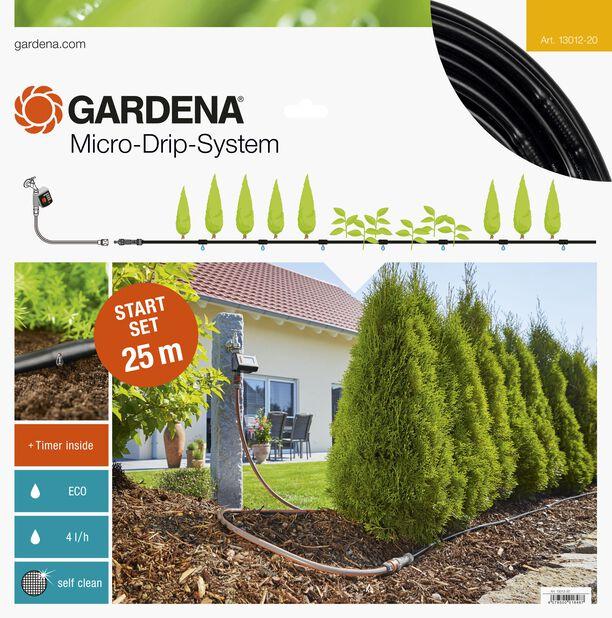 Startsett Planterader M automatisk Gardena