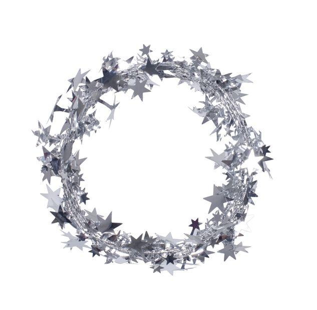 Stjerneglitter, Lengde 2.7 m, Sølv