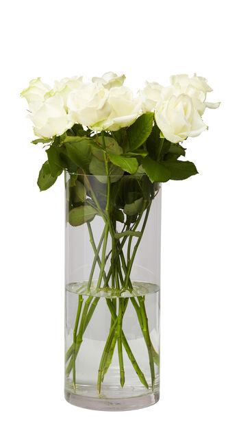 Vase Jennifer , Høyde 40 cm, Transparent