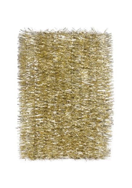 Juletre glitter, Lengde 5 m, Gull