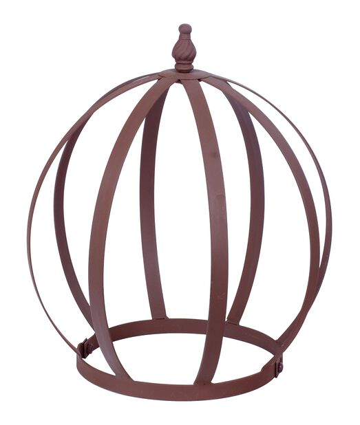 Espalier kuppel, Høyde 30 cm, Rust