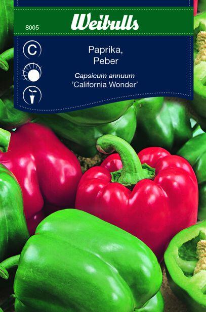 Paprika 'California Wonder'