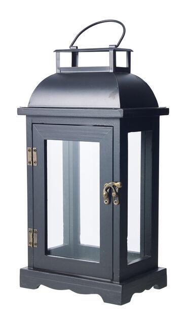 Lanterne Viktor svart h 33,5cm, Høyde 33 cm, Svart