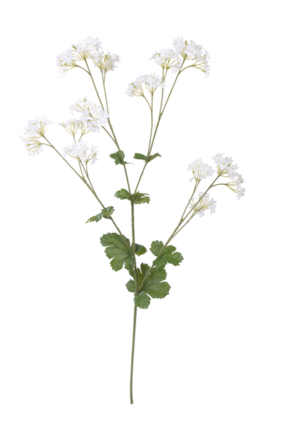 Marikåpe kunstig, Høyde 62 cm, Hvit