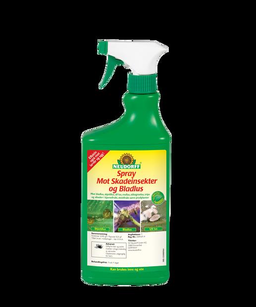 Spray mot skadeinsekter og bladlus, 750 ml, Flerfarget