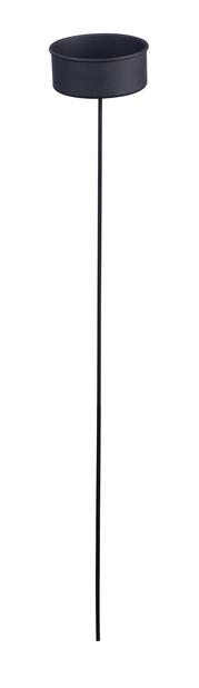 Fakkelholder, Høyde 86 cm, Hvit
