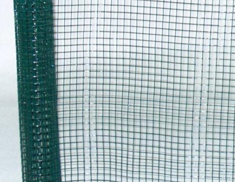 Metallnett plastbelagt, Lengde 5 m, Grønn