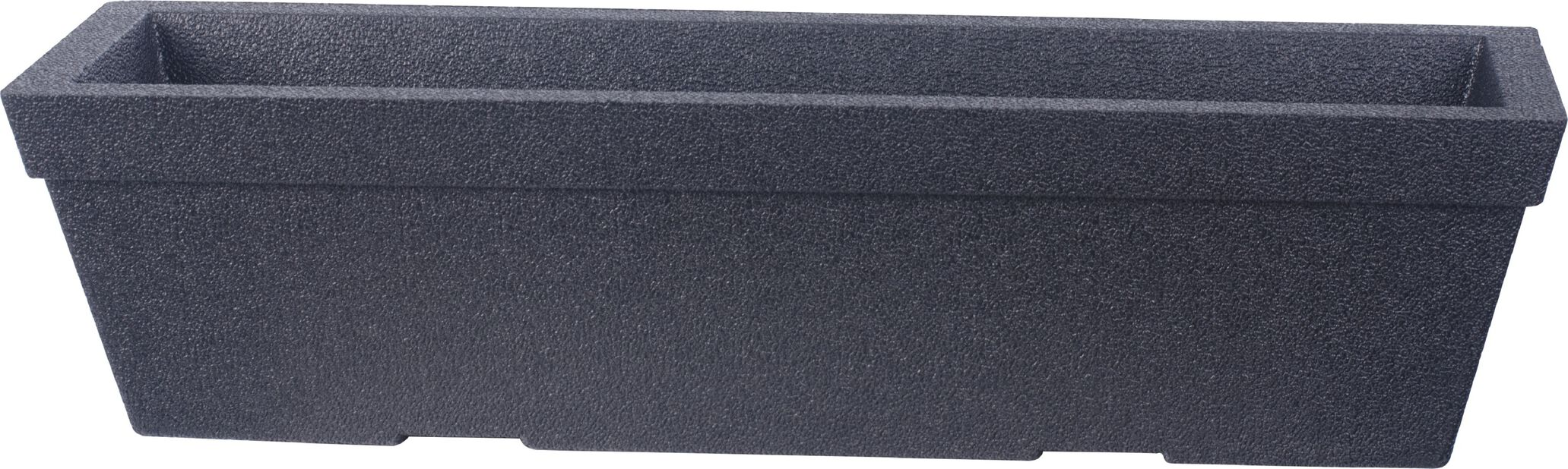 Balkongkasse Milla, Ø76 cm, Svart