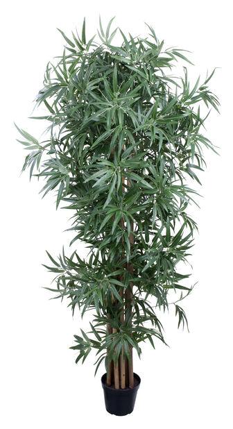 Bambustre H 180 cm, grønn, kunstig