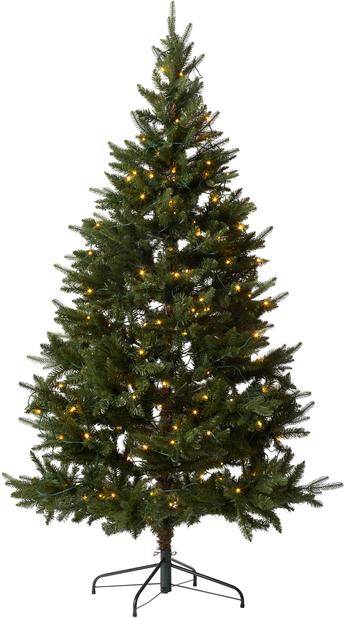Kunstig juletre Hurdal med lys 210 cm