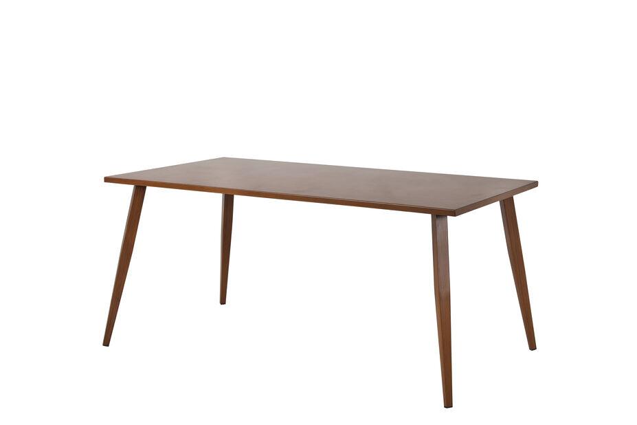 Spisebord Iowa, Lengde 160 cm, Brun