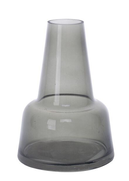 Vase Aston, Høyde 14 cm, Grå