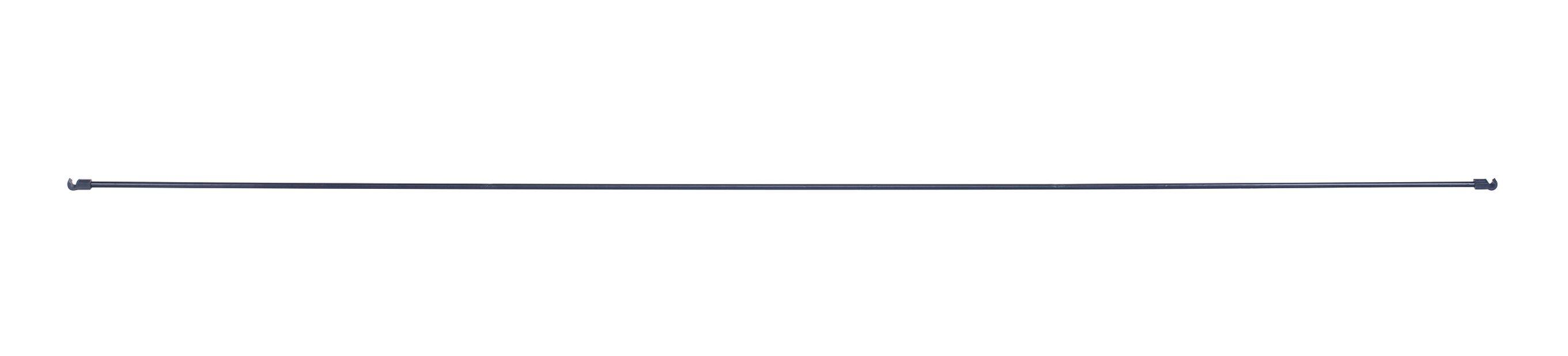 Metallstag til bøyle, Lengde 117 cm, Svart