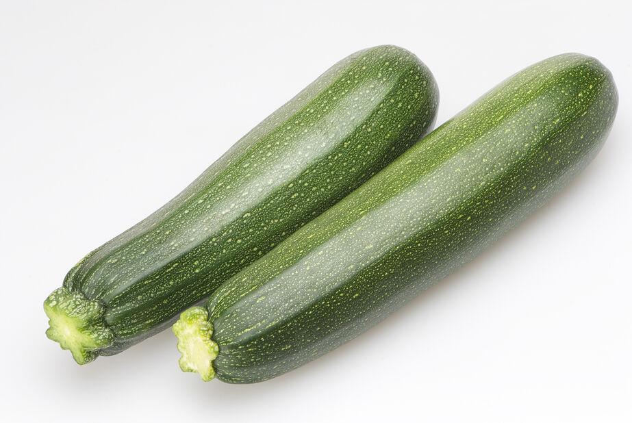 Sommersquash 'Ambassador', Ø10.5 cm, Grønn