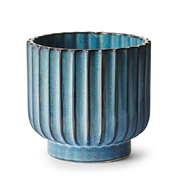 Potte Zara, Ø15 cm, Blå