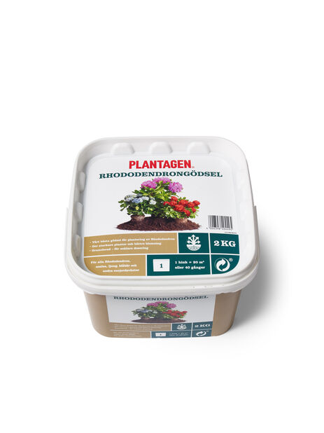 Plantagen Premium Rododendrongjødsel, 2 kg, Flerfarget