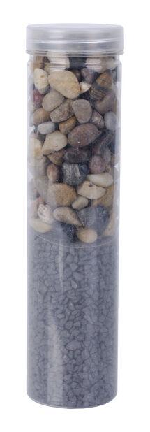 Dekormiks stein/grus, svart