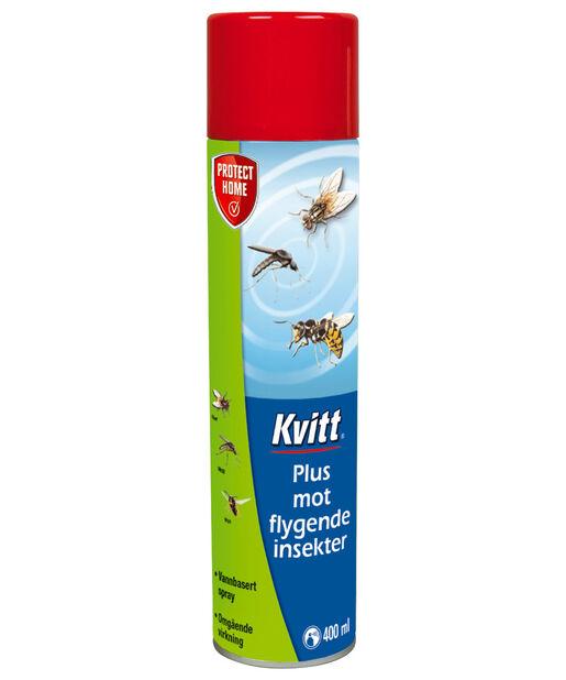 Kvitt Pluss mot flygende insekter, 400 ml