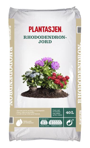 Jord rhododendron , 40 L, Flere farger