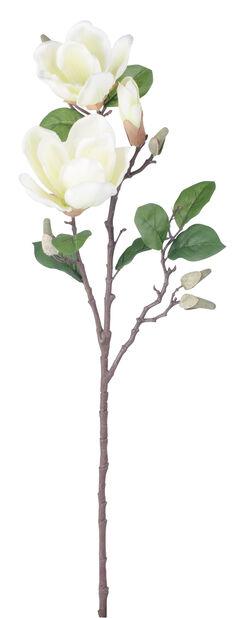 Magnolia, kunstig, Høyde 71 cm, Grå