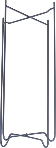 Pidestal Zoe, Høyde 49 cm, Svart